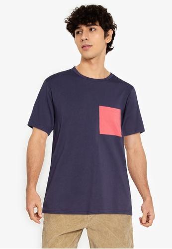 ZALORA BASICS multi Contrast Pocket T-Shirt A2EA4AA21437C3GS_1