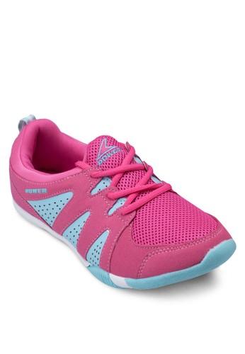 Wind A115 zalora退貨撞色繫帶運動鞋, 女鞋, 運動鞋