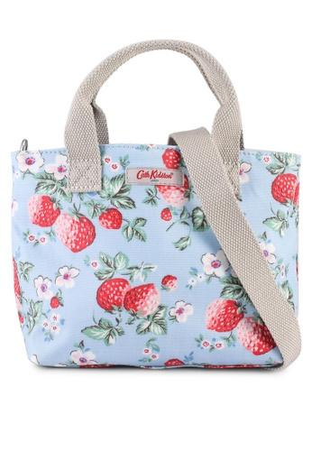 Cath Kidston blue Mini Wild Strawberry Mini Tote Bag D577CACC05C256GS_1
