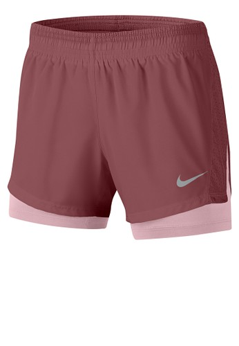 Nike red Women's 10K 2-In-1 Running Shorts 2BF85AA51FCCB3GS_1