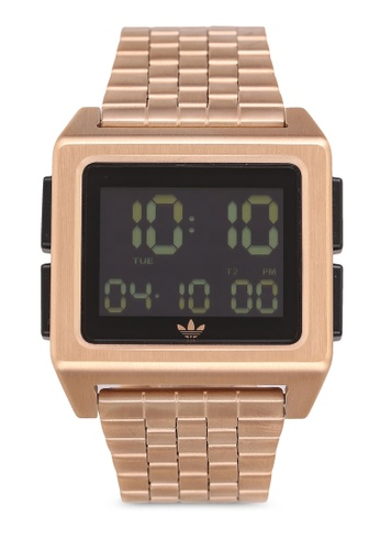 Adidas gold adidas originals Archive M1 Watch 99660ACB55762AGS_1