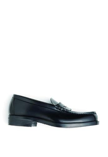 HARUTA 黑色 男裝經典樂福皮鞋-6550 1F987SHCE82A0FGS_1