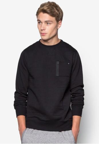 Cult Zip Crew Sweater, 服飾,esprit台灣 毛線衣