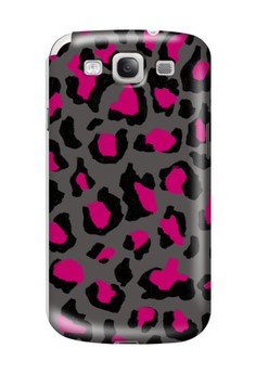 Funky Cheetah Print B Glossy Hard Case for Samsung Galaxy S3