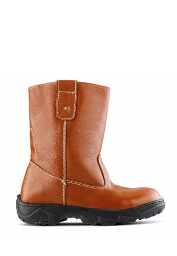 Sogno brown Safety Boot Pria GF.2104 F973FSH89453FCGS_1