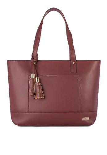 流蘇吊esprit 評價飾托特包, 包, 飾品配件