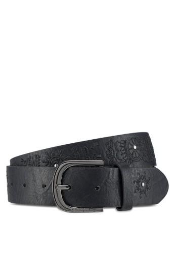 Desigual black Mandala Belt 4EA7AAC5FF9460GS_1