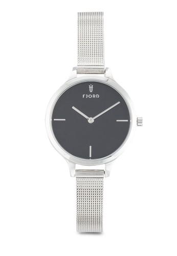 GYDA 金esprit hk store屬網眼圓框手錶, 錶類, 飾品配件