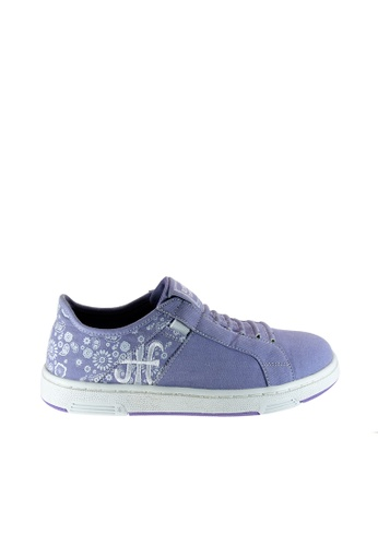 Royal Elastics 紫色 Icon Washed 休閒鞋 RO796SH09SMOTW_1