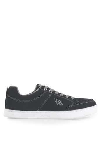 Homypro grey Thomson 01 Sneakers HO843SH15URWID_1