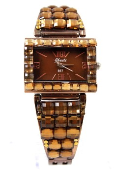 Jbaili Venna Stainless Stoned Watch 867