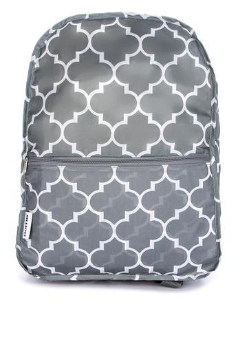 RuMe grey Crossbody Backpack-Foldable Travel Backpack 7A6ACAC85720AFGS_1