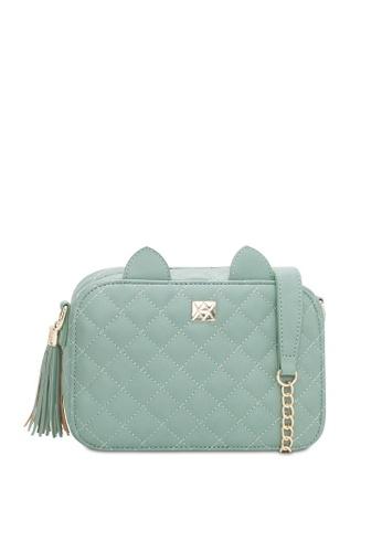 VINCCI green Shoulder Bag 2FD02AC43DEC27GS_1