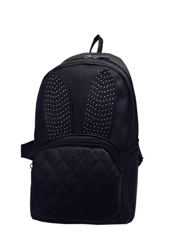 TCWK black Ladies Backpack TC258AC92FEHMY_1