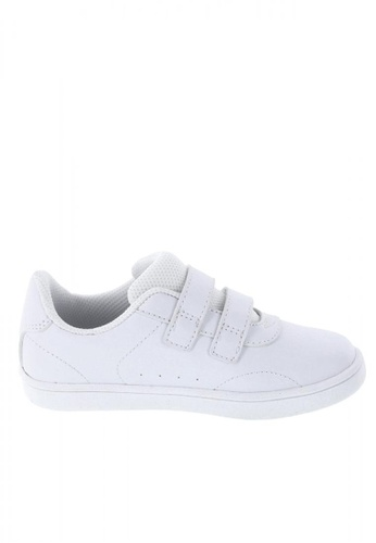 Zoe and Zac white Girls' Toddler Relay Court Sneakers F86EAKS8D7A7EEGS_1