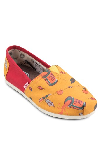 esprit 童裝Fiesta 可愛插圖懶人鞋, 女鞋, 休閒鞋