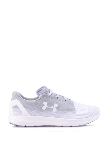 Under Armour grey UA Remix 2.0 Sneakers 84DFDSH99DFAC6GS_1