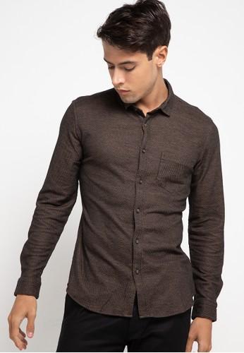 Manzone brown HERBERT-BROWN Shirt 923A1AACF33641GS_1