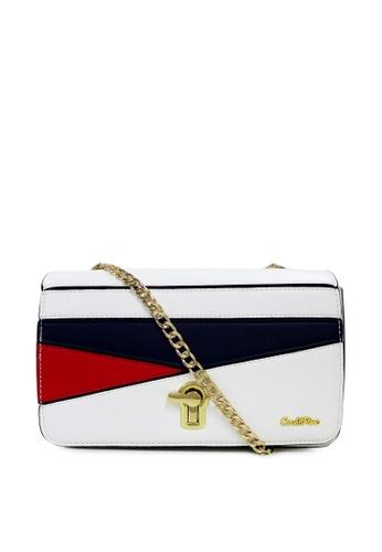 Carlo Rino white Carlo Rino 0304233A-001-01 Sling-bag (White) 5F4B2ACE9CB090GS_1