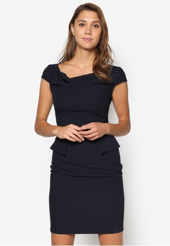 垂珠esprit 價位領緊身洋裝, 服飾, 洋裝