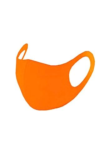 Glamorbit orange Orange Reusable Mask 6B3E1ES9321807GS_1