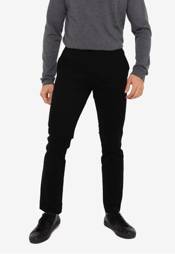 GAP black Skinny Fit Khaki Trousers 77728AA8F7BD71GS_1