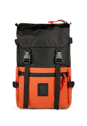 Topo Designs orange Topo Designs Rover Pack 87C62AC1B65395GS_1