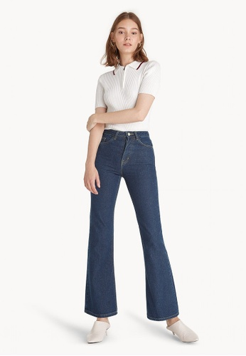867680a5ba5 Buy Pomelo Mid Rise Flare Jeans
