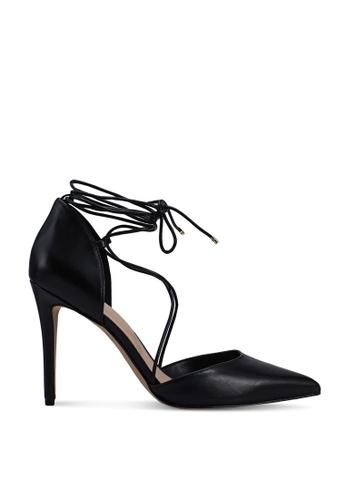 ALDO 黑色 Finsbury Pointed Toe Ankle Tie Heels 52681SHCC0BC3CGS_1