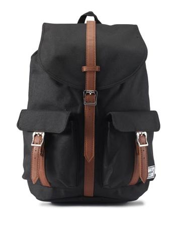 Herschel black Dawson Backpack 3BD68AC709B2ABGS_1