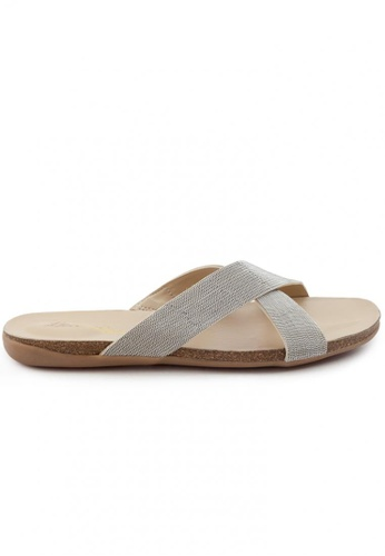 Shu Talk 銀色 高貴羊軟皮涼鞋 9CC83SHF729F3FGS_1