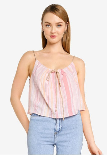 Cotton On multi Summer Vibes Relaxed Cami 23D16AA2AB20CCGS_1