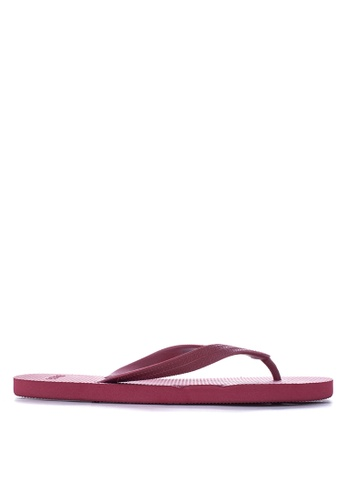 BENCH red Basic Rubber Slippers BE550SH27LWQPH_1