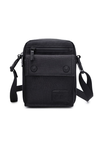 The Dude black Imagine Messenger Bag 04D41AC869FB48GS_1