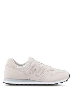 New Balance beige 373 Lifestyle Shoes 07655SHF596803GS 1 a078cac09b8b0