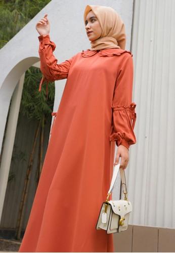 Mimamim orange Dress Falisha CA948AA6CACD3BGS_1