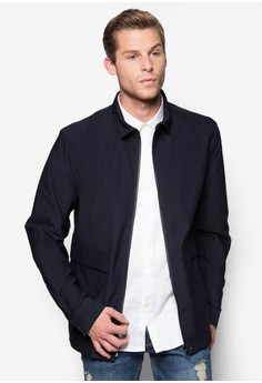 Zip-up Shirt Jacket