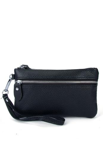 HAPPY FRIDAYS Stylish Litchi Grain Leather Clutch Bag JN2021 11ACAAC80B311BGS_1