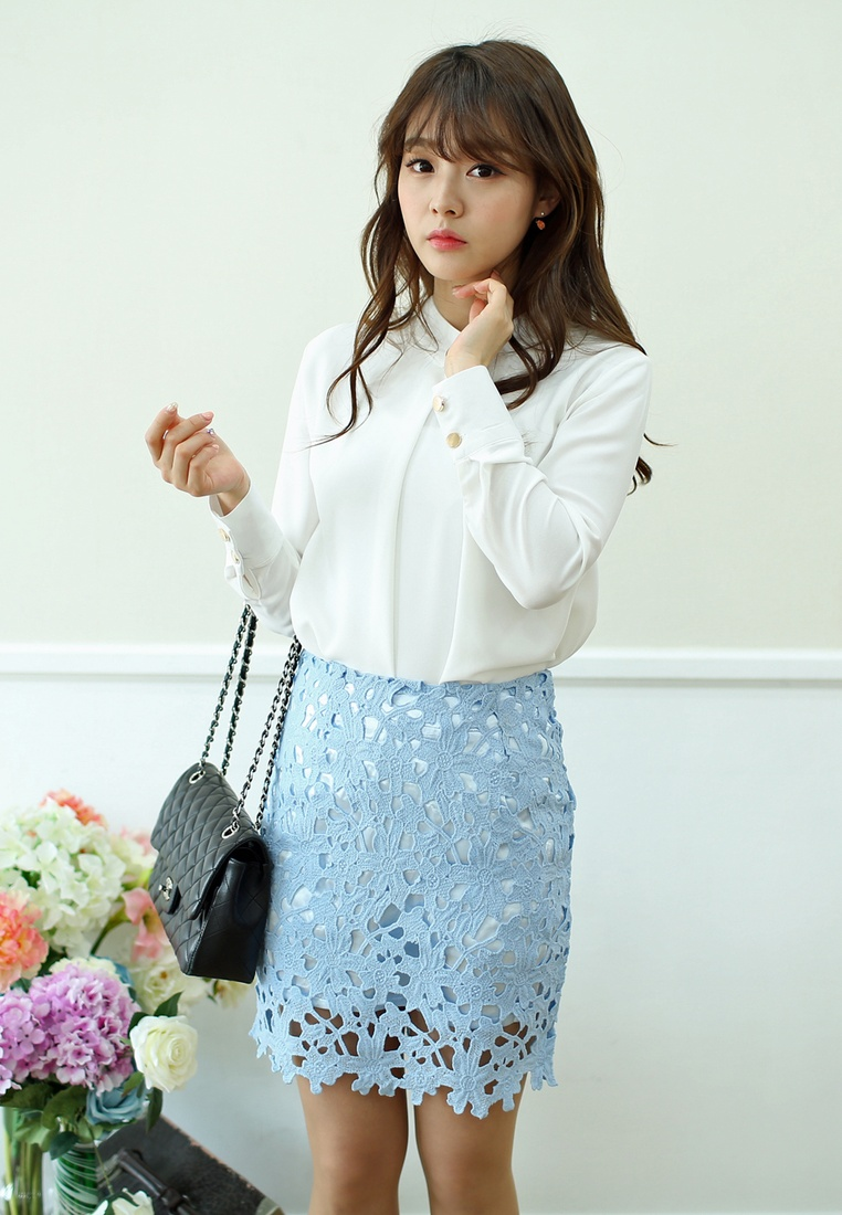 in Blue Blue Skirt Neo Mini Shopsfashion CgZqn