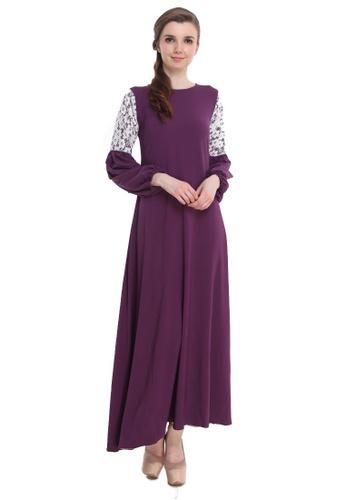 Amar Amran purple Jubah Zara 7FB15AAE7EDB9BGS_1
