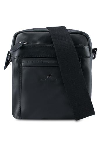RAV Design black Leather Sling Bag RA113AC0SJ9WMY_1