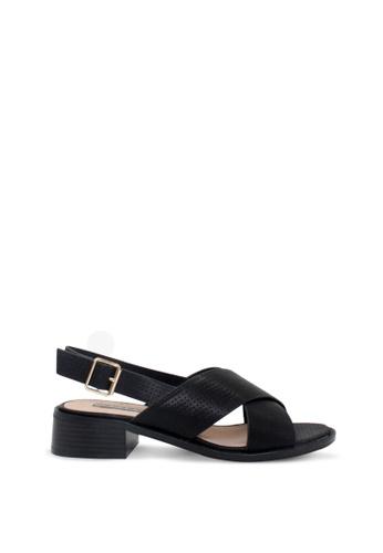 London Rag 黑色 女士高跟凉鞋 E0241SHD6F5D2EGS_1