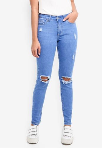 Factorie blue The Mid-Rise Skinny Jeans 0736AAA9F0B959GS_1