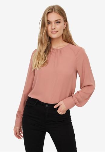 Vero Moda pink Poel Top BFF26AA64F3260GS_1