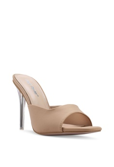 6b64df1d066 10% OFF Public Desire Siren Slide On Mule Heels S  61.90 NOW S  55.90  Available in several sizes