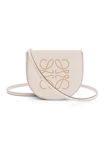 LOEWE brown Loewe Heel Crossbody Bag in Soft Oatmeal/Tan DB821AC0E0AC03GS_1
