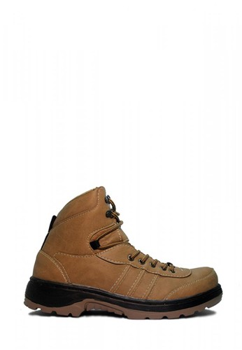 D-Island brown D-Island Shoes Safety Boots Tracking Combat Leather Soft Brown DEEA9SH0748D03GS_1