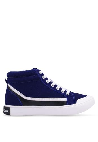 Calvin Klein blue Dione Sneakers 7FEFDSH7FA34FCGS_1