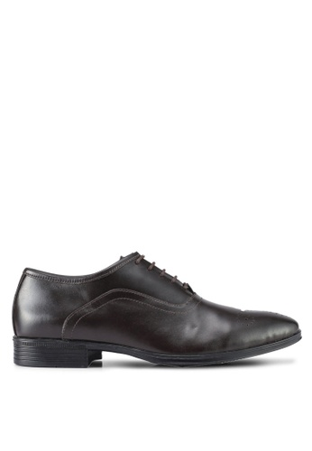 Acuto brown Leather Dress Shoes AC283SH0SL71MY_1