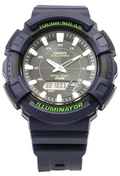 Analog- Digital Solar Powered Watch AD-S800WH-2A